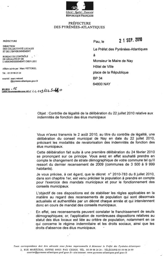 Lettre Préf p1