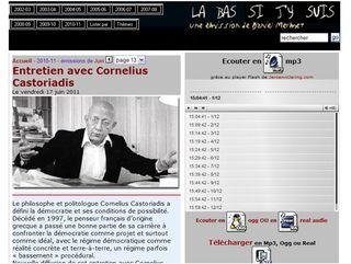 émission Castoriadis 2